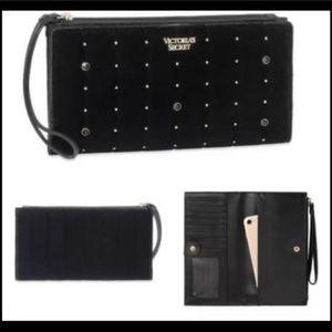 Victoria's Secret black wallet